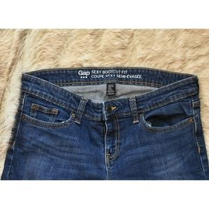 Gap Sexy Bootcut Fit Jeans Size 4/27S